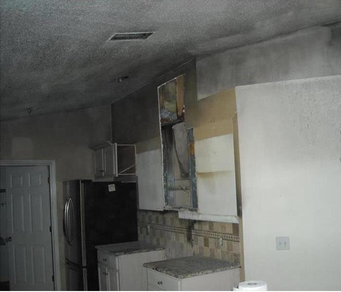 Fire and Smoke Restoration in West Hills Before