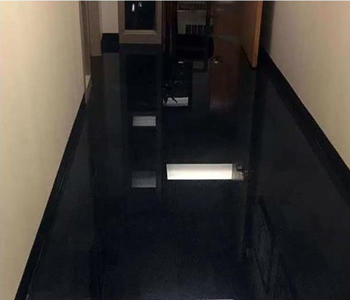 Commercial Water Damage Restoration In Canoga Park Before