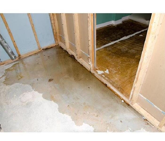 Water Damage When a Plumbing Leak Causes Water Damage to Your Canoga Park Home